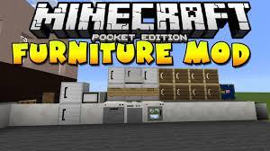 0 10 5 Furniture Mod Minecraft Pocket Edition