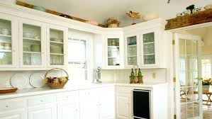 Kitchen Above Cabinet Decor Extra Tall Cabinets Abovedecor Over Ideas S Reviews