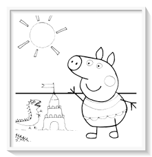 Libro De Peppa Pig Para Colorear Pdf 🥇 Biblioteca De Imágenes Online