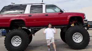 100 Texas Trucks Everything Is Bigger In Monster Raised Truck YouTube