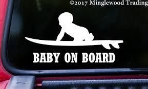 BABY ON BOARD (SURFBOARD) 6