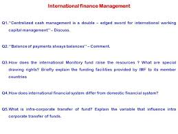 International finance Management ppt