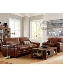 Decoro Leather Sofa Manufacturers by Leather Furniture Macy U0027s