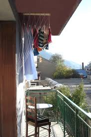 pour etendre le linge etendoir à linge de plafond 5 barres 1m30 etend mieux capacité