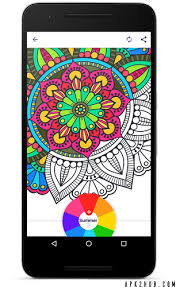 Coloring Book For Me Mandala V15 Premium 1 Image