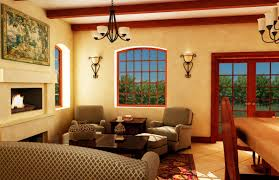 Tuscan Style Living Room Plans Awesome House Warm Plus Purple Lighting Art Designs