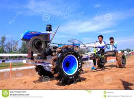 Tractor Mud Racing In Thailand Editorial Stock Photo - Image Of ...