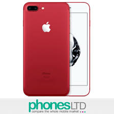 Apple iPhone 7 Plus 128GB PRODUCT RED Pay As You Go Deals