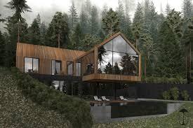 100 House In Forest House Dinara Yusupova