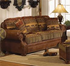 Rustic High Country Sofa