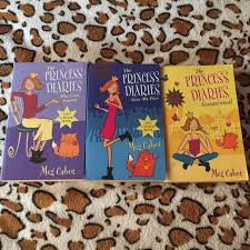 The Princess Diaries Books Stationery On Carousell
