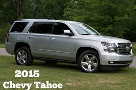 Review of the all new 2015 Chevy Tahoe
