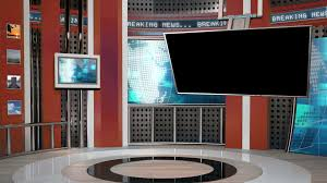 News Sports Studio Background