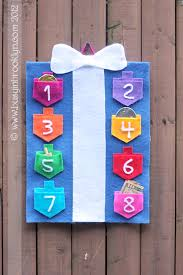 Chanukah Wall Hanging Craft