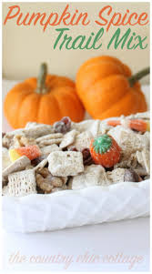 Pumpkin Spice Chex Mix by Pumpkin Spice Trail Mix The Country Chic Cottage