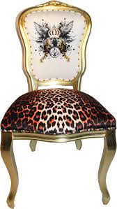 pompöös by casa padrino luxus barock esszimmer stuhl leopard