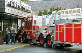 Seattle Firetrucks Collide, 8 Firefighters Sent To Hospital ...