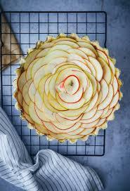 rezept für apfeltarte mit mandelfüllung apple frangipane tart recipe
