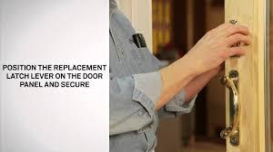 Andersen Patio Door Lock Instructions by Latch Lever Replacement For Andersen Perma Shield Narroline And