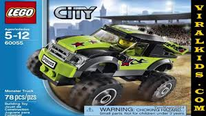 100 Monster Truck Tickets 2014 LEGO City 60055 Toys Review Video Dailymotion