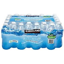 Kirkland Signature Purified Drinking Water 169 Ounce 40 Count