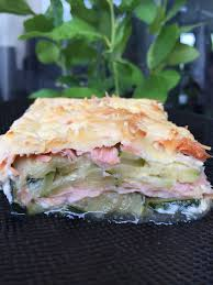 cuisine de courgettes gratin de courgettes et saumon fumé et sa cuisine