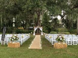 Rustic Wedding Aisle Decorations An Eventful Week Runners And Outdoor