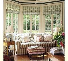 Bay Window Treatments Dining Room For Windows In Photo Of Fine