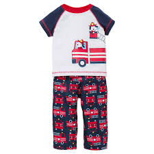 Little Me Toddler Boys Pajamas 3 Pc Sleepwear Fire Truck Shirt Pants ... Long Sleeve Fire Truck Sleepwear Honey Bee Tees Striped Girls Boys Pajamas 2 Piece 100 Cotton Kids Jumper Russell Sprouts Carters Little 4piece Products Cute Couture Boutique Sale Hatley Fire Truck Zip Babygrow Fireman Sam Pyjamas Elvis Charactercom Official Merch 2piece Chief Fleece Pjs Carterscom Leveret Pajama Set Best Rated In Baby Sets Helpful Customer Reviews 84544 New Pottery Barn Size 3t Pants Men
