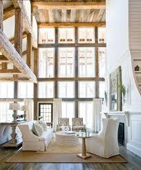 Formal Traditional Rustic Living Room Design