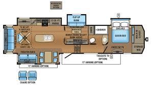 Jayco Designer Fifth Wheel Floor Plans by Jayco North Point 377rlbh 5th Wheel Floor Plan