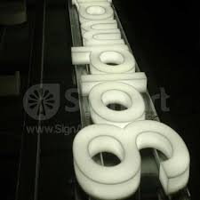 Fabricated Acrylic Letters 3D Fabricated Letters Sign Art