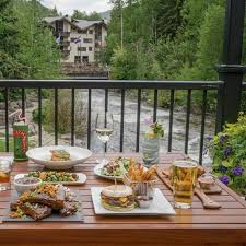 Bison Deck Supports Denver Co by White Bison Restaurant Vail Co Opentable