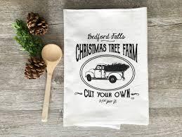 Colorado Springs Christmas Tree Permit 2014 by Christmas Tea Towel Bedford Falls Christmas Tree Farm Towel
