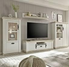 imv florenz wohnwand 3 dekor in pinie weiß oslo pinie