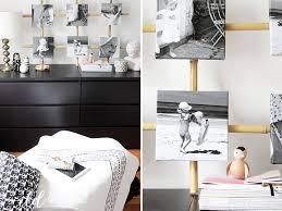 diy bilder kollage im squareformat als schlafzimmerdeko