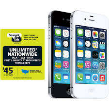 Apple Iphone 4s 16gb White For Straigh Walmart