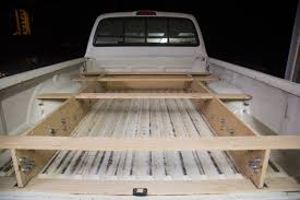 Home Made Drawer Slides, Strong And Cheap. | IH8MUD Forum Rolling Truckbed Toolbox Youtube Bedslide Adds Grandwest To List Of Cadian Distributors Atv Nightstands Inspiring Truck Bed Drawer Plans Drawers Diy Storage Car Slide Out Useful Out Tool Box Best Resource Pull Listitdallas 2200xl8048cgl Tray 2200 Lb Capacity 100 Deck Rails 2200hd7548cgl 70 Decked Pickup System Tools The Trade Fleets