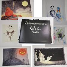Nightmare Before Christmas Bedroom Design by Nightmare Before Christmas Set Of 6 Giclees Signed By Tim Burton