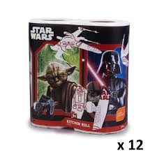 wars stw008 pack kitchen roll x 12 packs