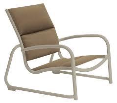 Stack Sling Patio Chair Tan by Tropitone Millennia Padded Sling Patio Chair U0026 Reviews Wayfair
