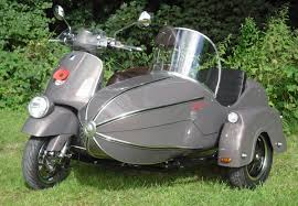 Vespa Scooters Get Watsonian Sidecars For Cute Combo