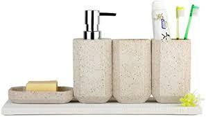 liyongdong sandstein badezimmer zubehör sets vier stück