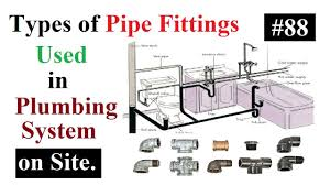 Pictures Types Of Pipes Used In Plumbing by Types Of Pipe Fittings Used In Plumbing System On Site In Urdu