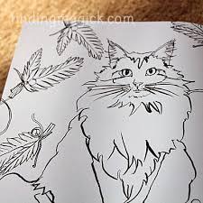 Cats In Paris Coloring Book