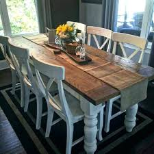 Square Farmhouse Dining Table Plans Best