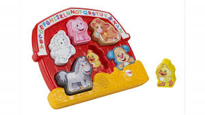 Fisher-Price Laugh & Learn Farm Animal Puzzle By Fisher-Price ... 1987 Fisher Price Farm Toy Youtube Fisherprice Laugh Learn Jumperoo Walmartcom Amazoncom Bright Starts Having A Ball Cluck And Barn Fun Sounds Demo Little People Vintage Learningactivity Table Lego With Learning Basketball Animal Friends Toys Games Toysrus Vintage Sound Activity Center Mini My First
