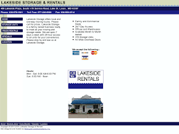 100 Truck Rental St. Louis Lakeside Storage And S Competitors Revenue And