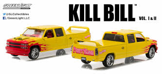 Greenlight 1:43 KILL BILL 1997 Custom Crew Cab