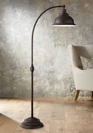 Threshold Silver Arc Floor Lamp by Arc Floor Lamp Over Dining Table Floor Lamps Electrum Arc Floor